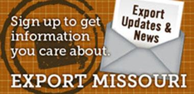 Sign up to get information you care about - Export Updates & News