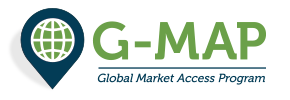 Global Market Access Program (G-MAP) logo